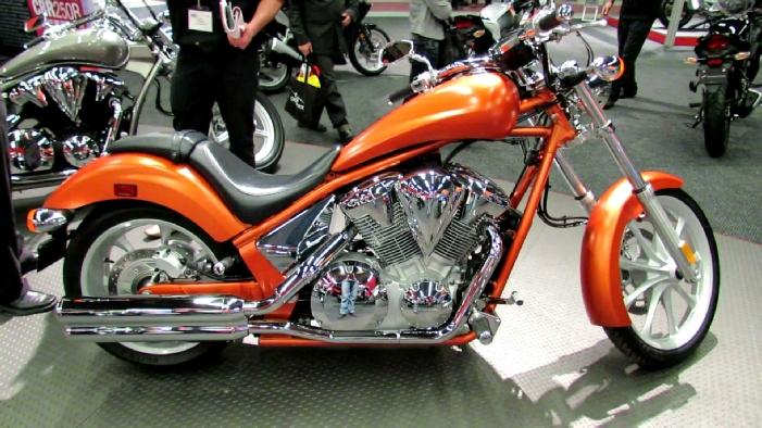 2011 Honda Vt1300 Fury At 2012 Montreal Motorcycle Show