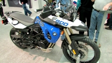 2012 BMW F800GS at 2012 Montreal Motorcycle Show