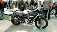 2012 BMW R1200GS Adventure at 2012 Montreal Motorcycle Show
