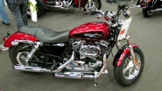 2012 Harley-Davidson Sportster 1200 Custom at 2012 Montreal Motorcycle Show