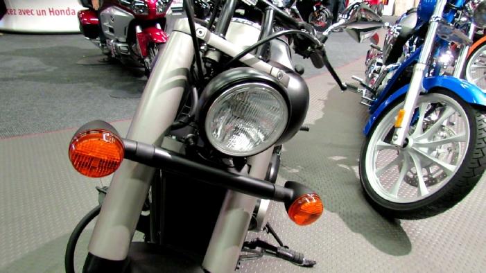 2012 Honda Shadow VT750 At 2012 Montreal Motorcycle Show.