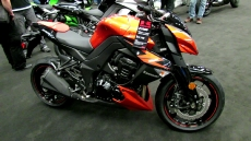 2012 Kawasaki Z1000 at 2012 Montreal Motorcycle Show