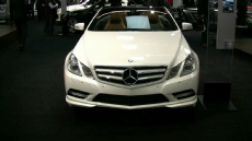 2012 Mercedes-Benz E350 4matic Convertible at 2012 Montreal Auto Show