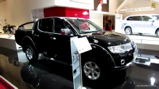 2012 Mitsubishi L200 Diesel at 2012 Paris Auto Show