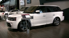 2012 Range Rover Supercharged at 2012 Montreal Auto Show
