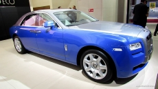 2012 Rolls-Royce Ghost at 2012 Paris Auto Show