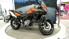 2012 Suzuki V-Strom 650ASE ABS at 2012 Montreal Motorcycle Show