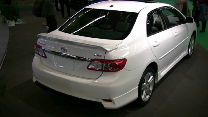 2012 toyota corolla xrs at 2012 montreal auto show. Black Bedroom Furniture Sets. Home Design Ideas