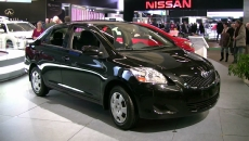 2012 Toyota Yaris at 2012 Montreal Auto Show
