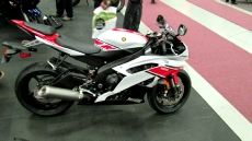 2012 Yamaha YZF-R6 at 2012 Montreal Motorcycle Show