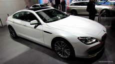 2013 BMW 650i xDrive Gran Coupe at 2012 Paris Auto Show