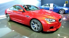 2013 BMW M6 Coupe at 2012 Los Angeles Auto Show