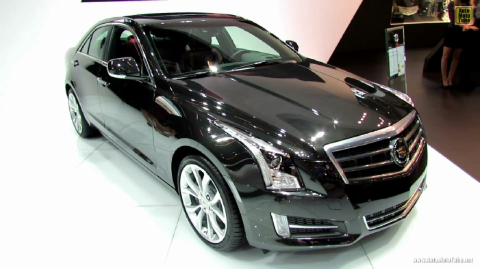 2013 cadillac ats 2 0t rwd at 2012 paris auto show. Black Bedroom Furniture Sets. Home Design Ideas