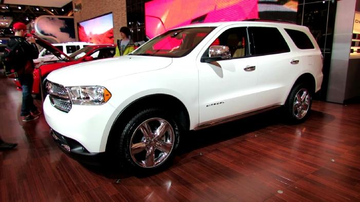 Dodge Durango Citadel AWD At Toronto Auto Show - Durango car show