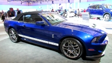 2013 Ford Mustang Shelby GT500 Convertible at 2012 Toronto Auto Show