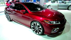 2013 Honda Accord Coupe Concept at 2012 New York Auto Show