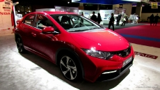 2013 Honda Civic at 2012 Paris Auto Show