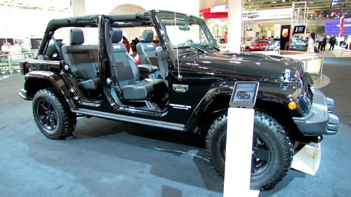 motor jeep wrangler