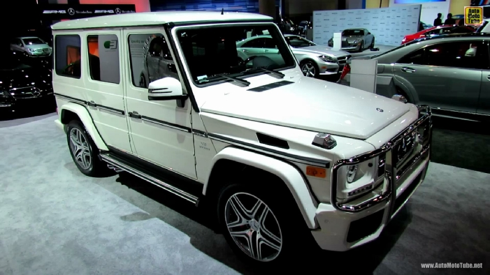 2013 Mercedes Benz G63 Amg At 2012 Los Angeles Auto Show