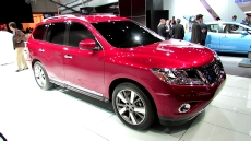 2013 Nissan Pathfinder at 2012 New York Auto Show