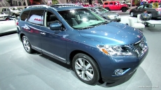 2013 Nissan Pathfinder Platinum at 2012 Los Angeles Auto Show