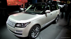 2013 Range Rover Autobiography Edition at 2012 Paris Auto Show