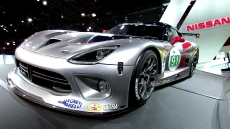 2013 SRT Viper GTS-R Race Car at 2012 New York Auto Show