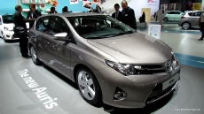 2013 Toyota Auris Diesel at 2012 Paris Auto Show