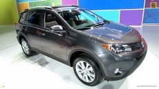 2013 Toyota Rav4 Limited at 2012 Los Angeles Auto Show