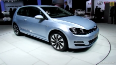 2015 Volkswagen Golf Blue Motion at 2012 Paris Auto Show