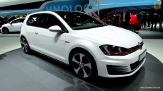 2015 Volkswagen Golf GTI at 2012 Paris Auto Show