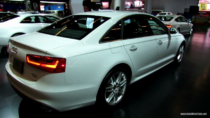 2013 Audi A6 S Line At 2013 Montreal Auto Show
