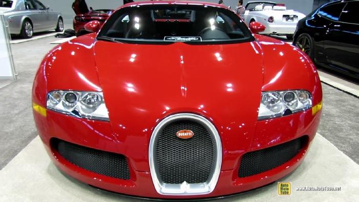 2013 bugatti veyron at 2014 chicago auto show. Black Bedroom Furniture Sets. Home Design Ideas