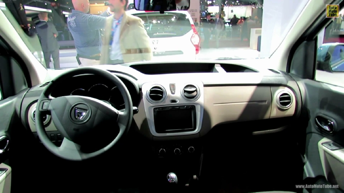2013 dacia dokker at 2012 paris auto show - Dacia dokker interior ...