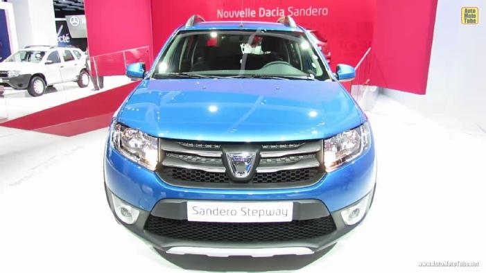 2013 Dacia Sandero Stepway At 2012 Paris Auto Show