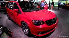 2013 Dodge Grand Caravan Executive at 2013 Detroit Auto Show