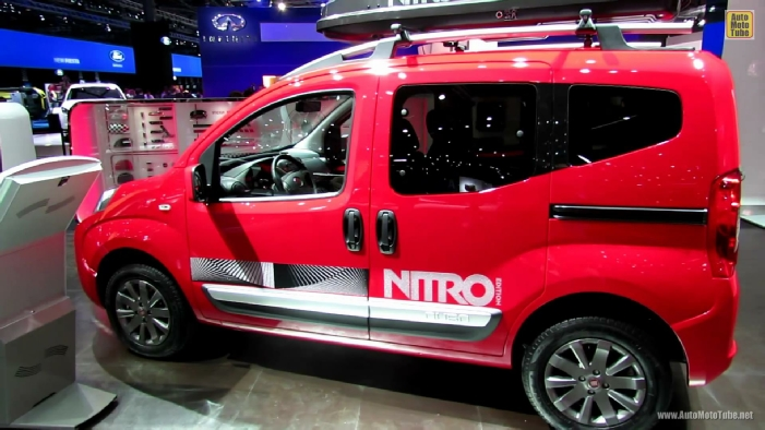 2013 fiat qubo trekking at 2012 paris auto show. Black Bedroom Furniture Sets. Home Design Ideas