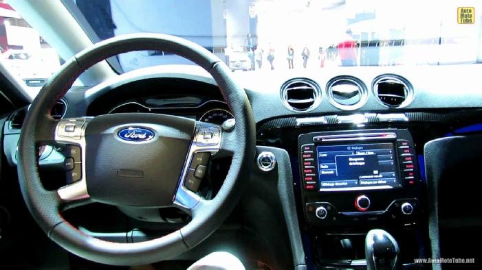 2013 Ford S Max Titanium Diesel T DCI At 2012 Paris Auto Show