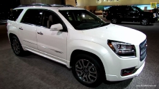 2013 GMC Acadia Denali at 2013 Detroit Auto Show