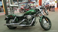 2013 Harley-Davidson Dyna H-D1 Street Bob at 2013 Montreal Motorcycle Show