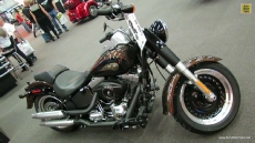 2013 Harley-Davidson Softail Fat Boy Lo Anniversary Edition at 2013 Montreal Motorcycle Show