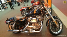2013 Harley-Davidson Sportster Superlow at 2013 Montreal Motorcycle Show