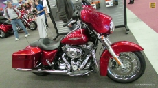 2013 Harley-Davidson Touring Street Glide at 2013 Montreal Motorcycle Show