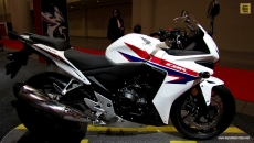 2013 Honda CB500R at 2013 Toronto Motorcycle Show