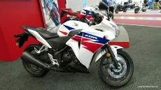 2013 Honda CBR250R at 2013 Montreal Motorcycle Show