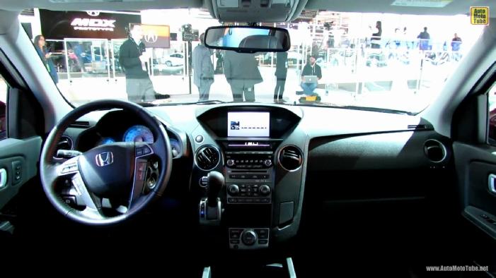 2013 Honda Pilot Touring 4wd At 2013 Detroit Auto Show