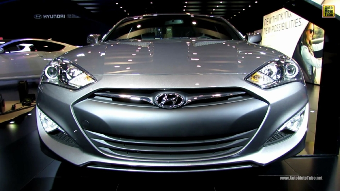 2013 hyundai genesis coupe 2 0t r spec at 2013 toronto auto show. Black Bedroom Furniture Sets. Home Design Ideas