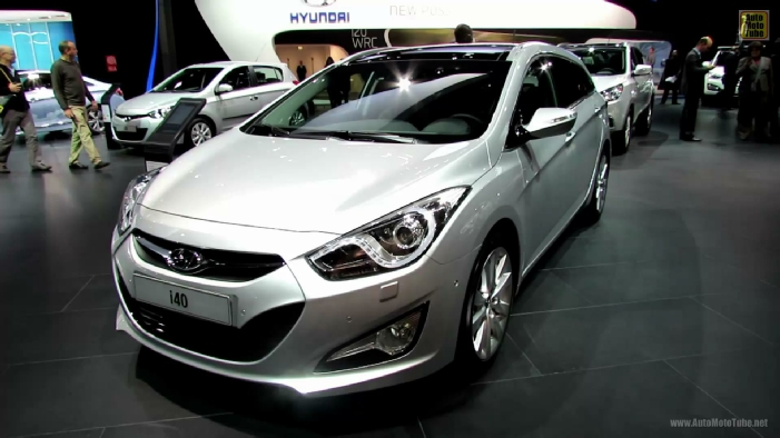 2013 hyundai i40 sport wagon diesel at 2012 paris auto show. Black Bedroom Furniture Sets. Home Design Ideas