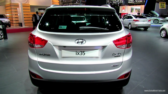 2013 hyundai ix35 diesel premium limited at 2012 paris auto show. Black Bedroom Furniture Sets. Home Design Ideas