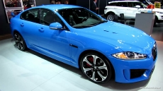 2013 Jaguar XF R-S at 2013 Detroit Auto Show